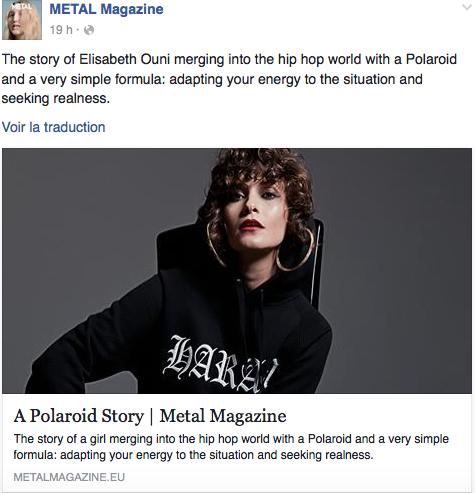 A POLAROID STORY x METAL Magazine