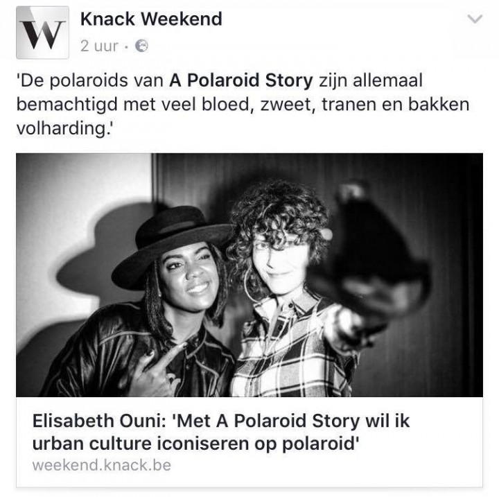 A POLAROID STORY x KNACK WEEKEND